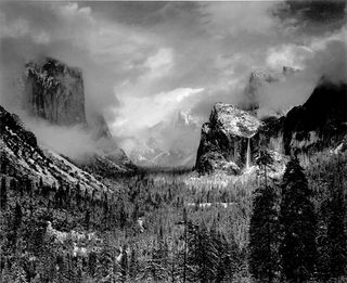 Ansel-adams-1942-yosemite-valley-clearing-winterstorm