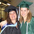 Me and Dana--Graduation, 2010