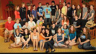 the JMM cast of the Nerd 2010
