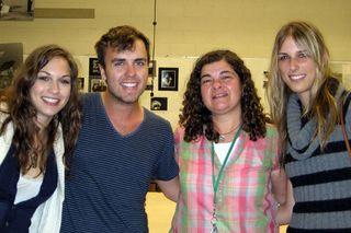 Maggie, Spencer, Teri & Lauren