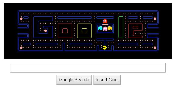 PacManGoogle