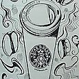 Graphic Series; Starbucks