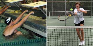 Swim-tennis