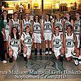 2010 Sophomore Girls Basketball Team