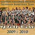 2009 -2010 Freshman Girls Basketball
