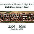 2005 Girls Cross Country Team