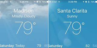 79 degrees