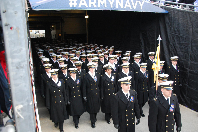 Navy March On