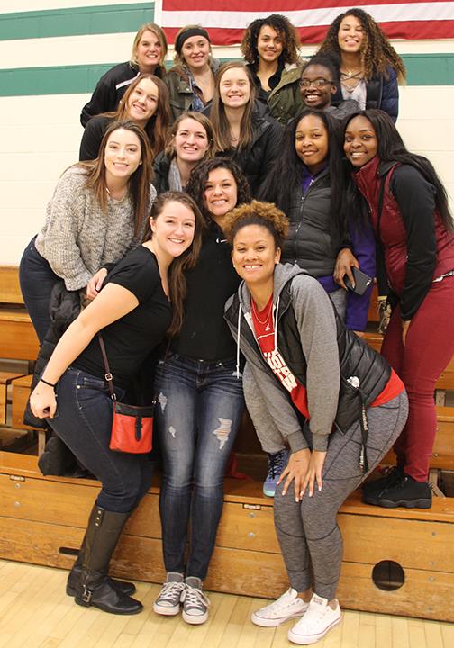 Girls BB Alumni
