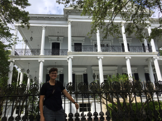 Monika in New Orleans