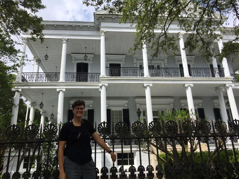 Monika in New Orleans