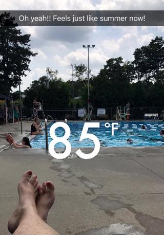 85 degrees