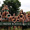 Seniors Swim Team Girls