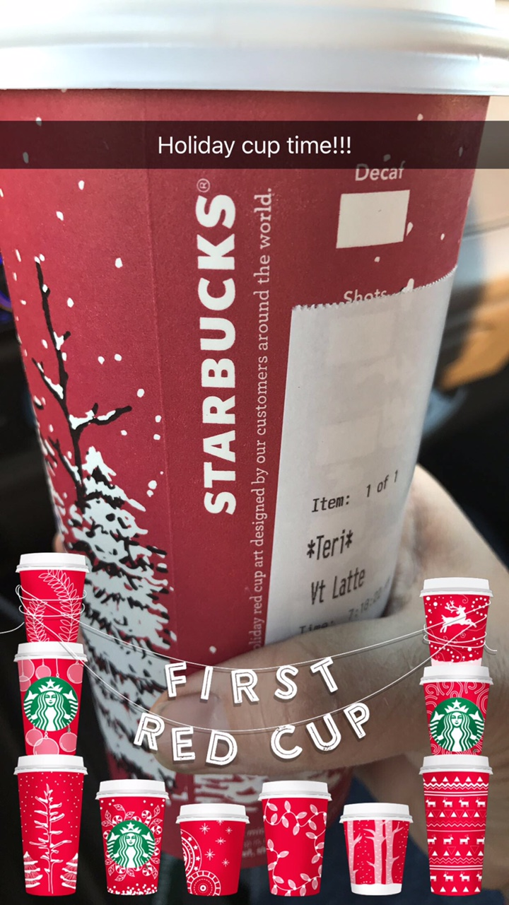 Holiday Cup Time
