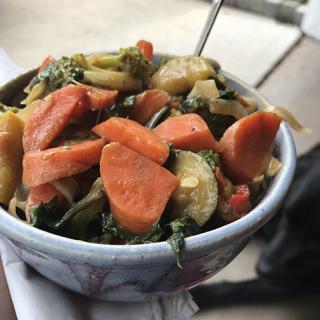 Stir fry lunch