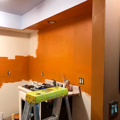 Kitchen paint 1