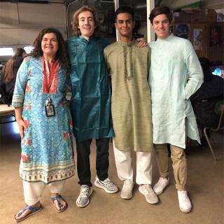 Dressed for Diwali 2