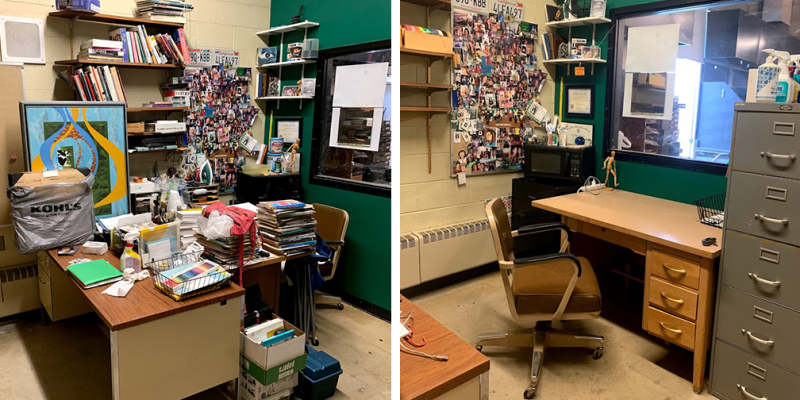 Office Before After