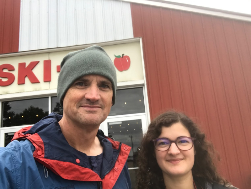 Jim and Erika
