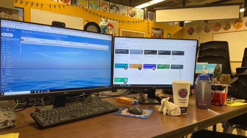 Teri's Desk