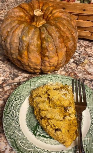 Pumpkin scone (2)