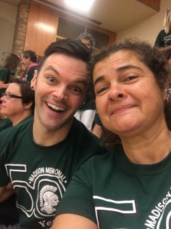 Josh and Teri