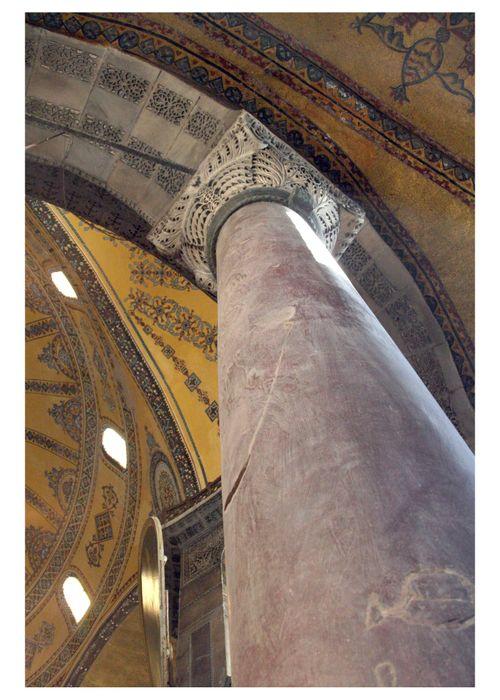Hagia Sophia Colum