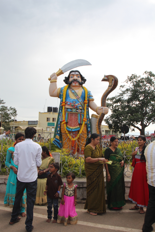 """Mahishasura Statue"""