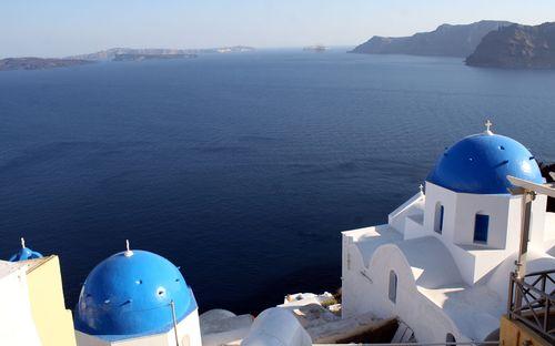 Santorini southern Aegean Sea view