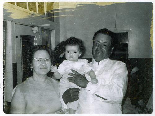 me & my grandparents, 1966