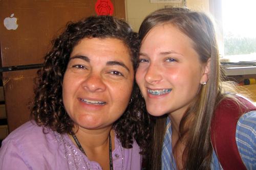 me & Lauren Mau, 2007