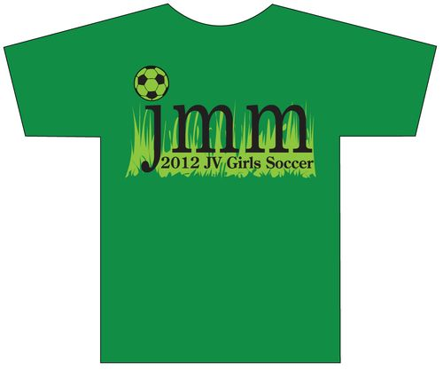 JV Girls Soccer 2012 Tshirt