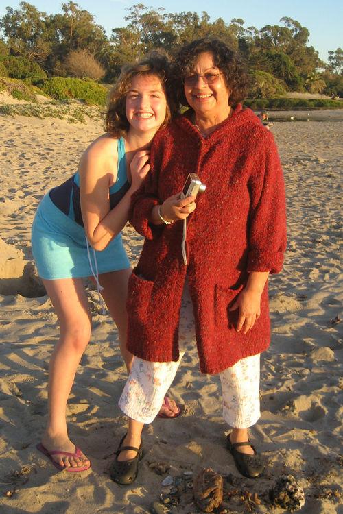 Jessi and Grandma Ofelia