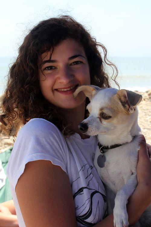 Erika with Sharky, 2011