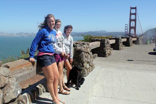Golden Gate Bridge Vista, 2011